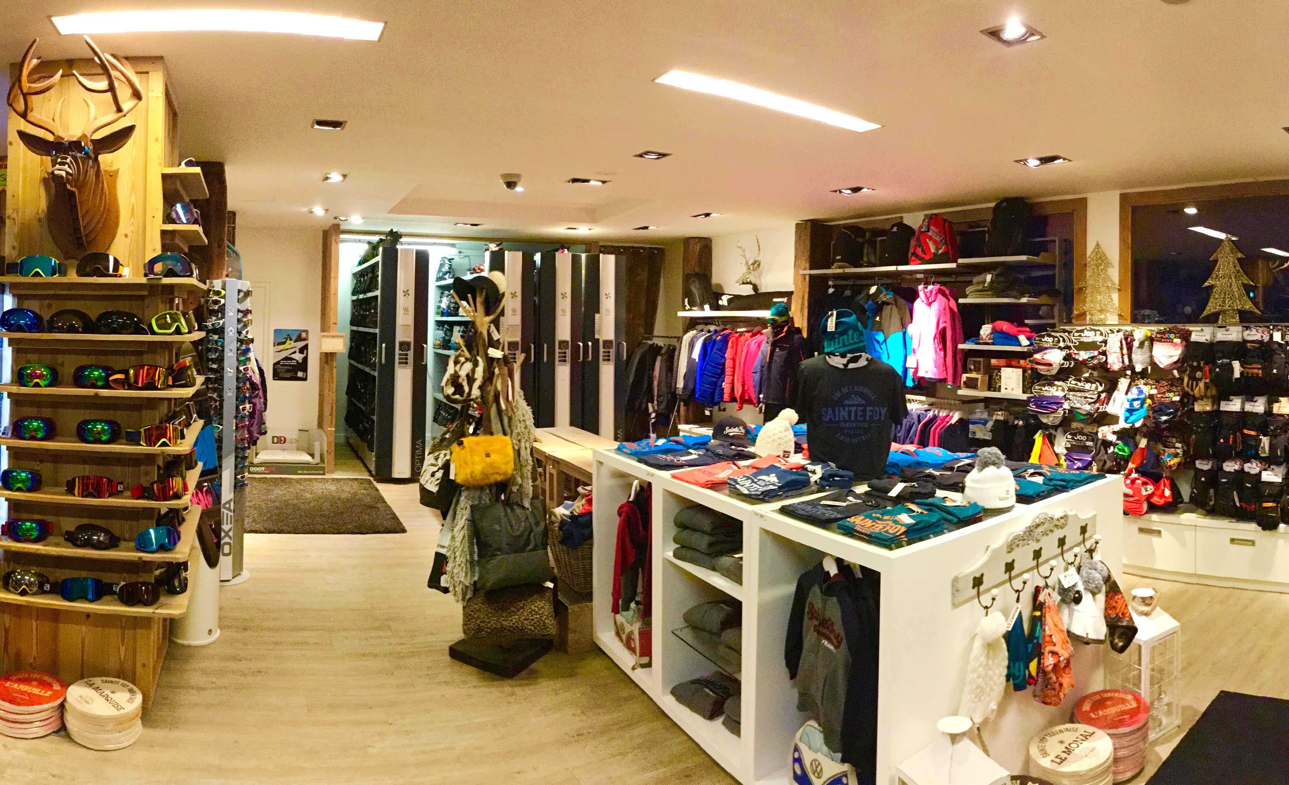 Sainte Foy Sports 2 magasin ski